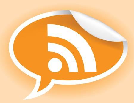RSS アイコン  イラスト・ベクター素材