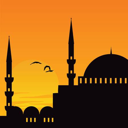 mosque Stock Vector - 10528938