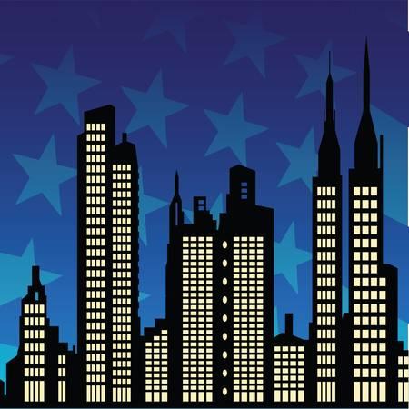 new york night: new york