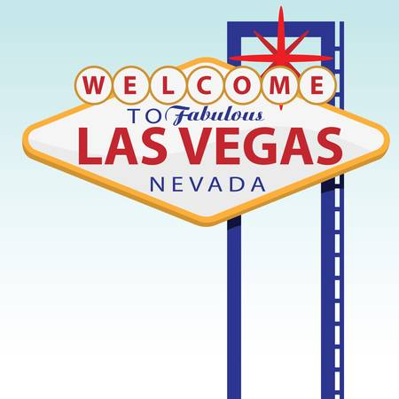 welcome to las vegas  イラスト・ベクター素材