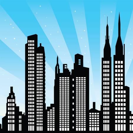 небоскребы: Нью-Йорк
