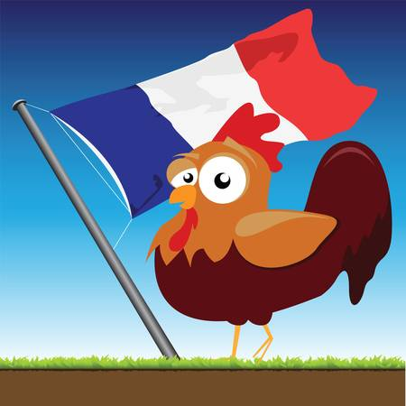 french cock Stock Vector - 10528955