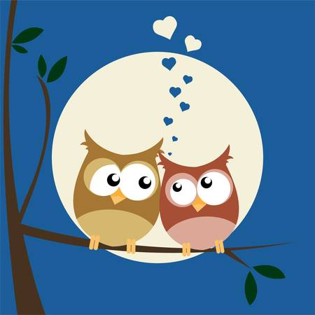 twit: owls in love