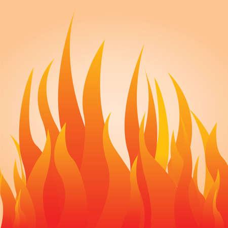 火災  イラスト・ベクター素材