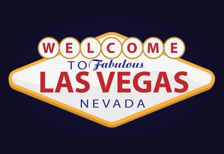 Willkommen in Las Vegas Standard-Bild - 10714320