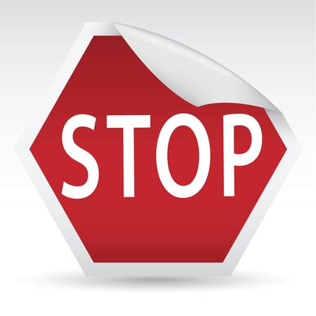 stop sign Stock Vector - 10922269