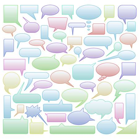 babble: speech bubbles