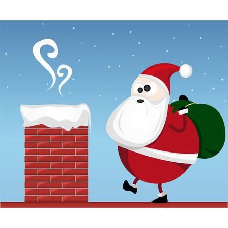 chimney: santa claus
