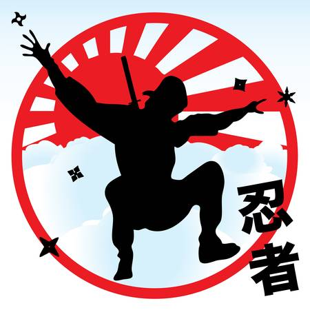 ninja Stock Vector - 14039645