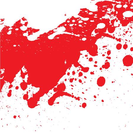 bloody splash Vector