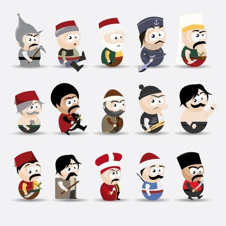 caricaturas de personas: los dibujos animados