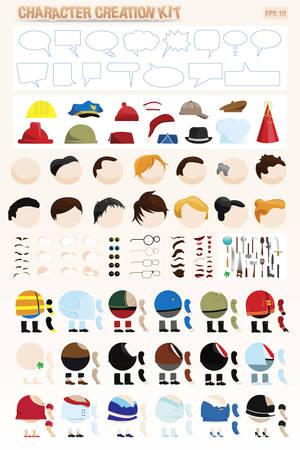 kit de creación de personajes
