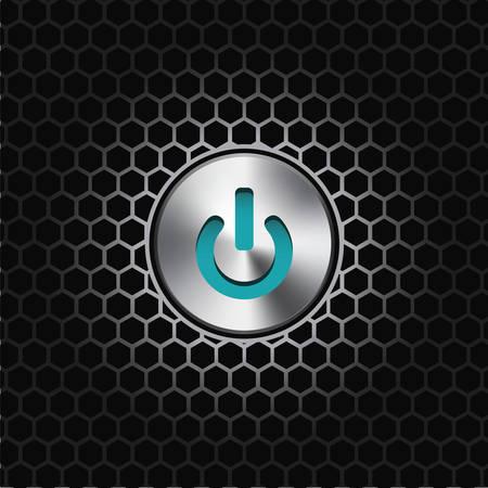 illustration d'un ou de désactiver le bouton