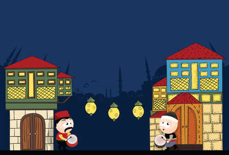 Ramadan Temps Illustration