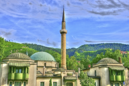 Mosque in HDR