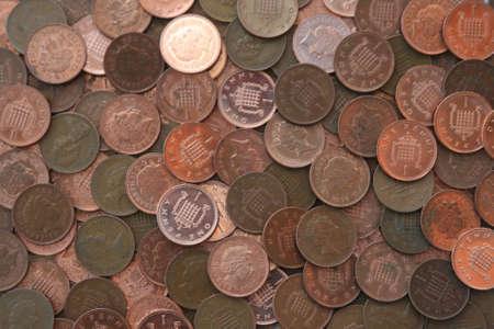 pennies: British Pennies