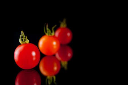 おいしいトマト 写真素材