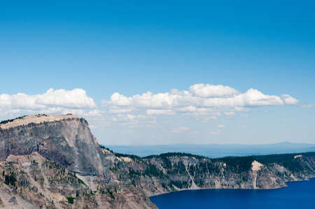 crater lake: Crater Lake Oregon in Summer