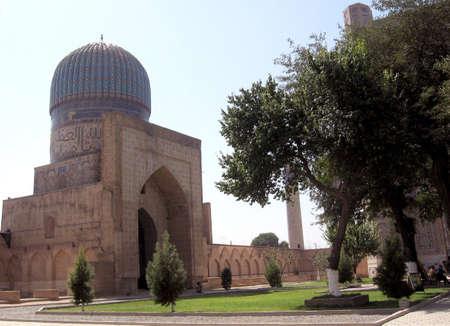 samarkand: Bibi-Khanim, Samarkand, Uzbekistan, Historic buildings