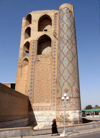 Ruins of Bibi-Khanim, Samarkand, Uzbekistan, Historic buildings