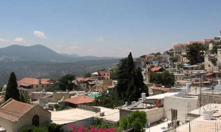 kabbalah: Safed a very spiritual and beautiful place in the northern hills of Israel