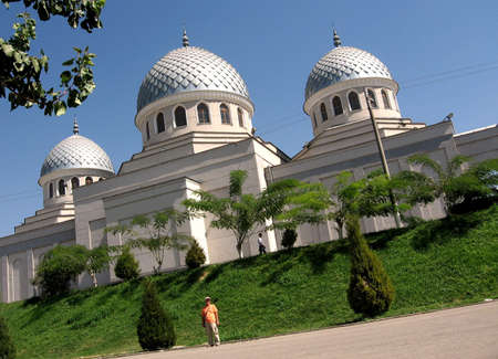 Juma Mosque in capital of Uzbekistan - city Tashkent. Stock fotó - 6496868