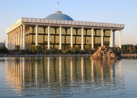 Majlis in the city of Tashkent, the capital of Uzbekistan Stock Photo
