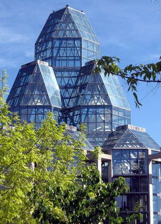 National Galleryl in Ottawa,Canada  Stock Photo