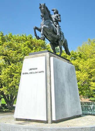 jose de san martin: Statue of General Jose? de San Marti?n in Washington DC