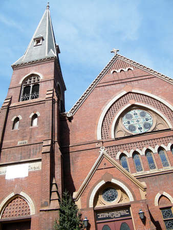 catholicism: Luther Place Memorial Church in Washington DC, USA Stock Photo