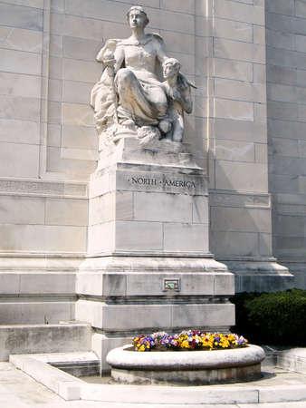 Sculpture en Amérique du Nord à l'Organisation des États américains à Washington DC Banque d'images - 8013608