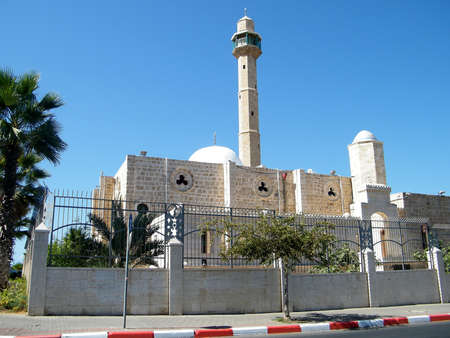 tel aviv: The Hasan-bey Mosque in Tel Aviv, Israel