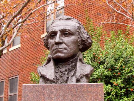 Bust of George Washington in Washington DC, USA Stock fotó - 9561471