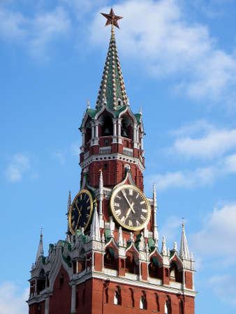 spasskaya: Spasskaya Tower of Moscow Kremlin in Moscow, Russia
