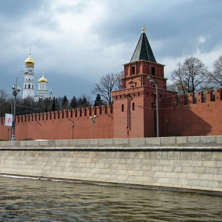 Petrovskaya Tower of Moscow Kremlin in Moscow, Russia photo