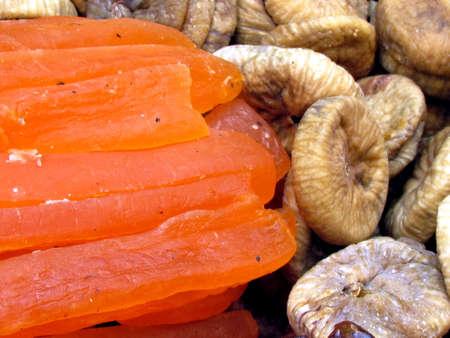 Dried papaya and figs on bazaar in Tel Aviv, Israel Stock fotó - 13670641