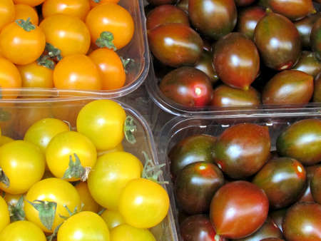 lycopene: Delicious tomatoes in boxes on bazaar in Tel Aviv, Israel