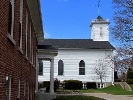 Building of Holy Trinity Church in Thornhill, Canada Stock Photo - 13836144
