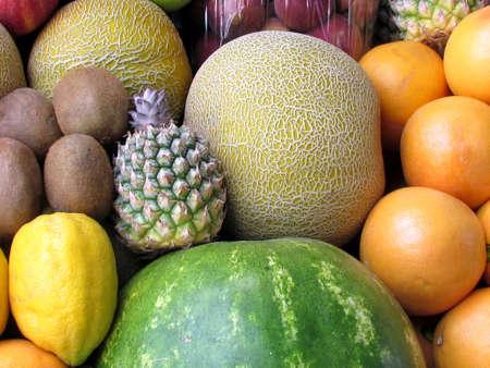 Still life of fruit  on bazaar in Tel Aviv, Israel