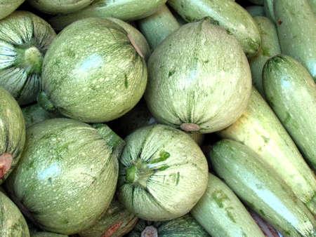 Zucchini on bazaar in Tel Aviv, Israel Stock fotó - 13918511