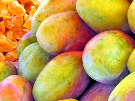 Mango on bazaar in Tel Aviv, Israel