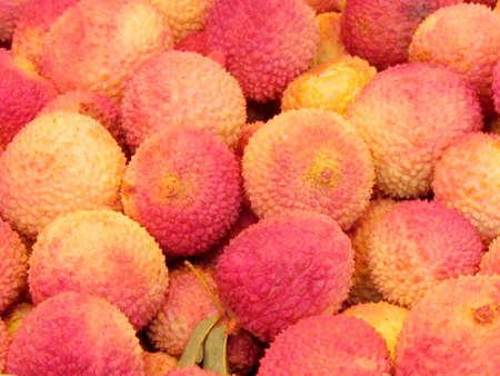 lichi: Lichi Fruit on bazaar in Tel Aviv, Israel