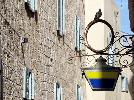 jafo: Netiv HaMazolot street in old city Jaffa, Israel                                Stock Photo