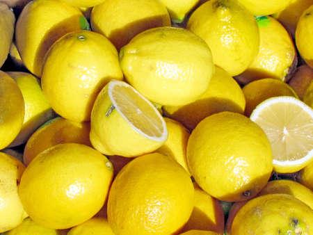 Solar lemons on bazaar in Tel Aviv, Israel Stock fotó - 29968383
