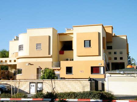 Residential houses in quarter Neve Rabin in Or Yehuda, Israel