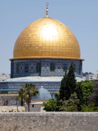 al aqsa: Rock Mosque in the old city of Jerusalem, Israel