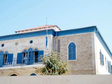The Tabeetha School on Yefet street in old city Jaffa, Israel
