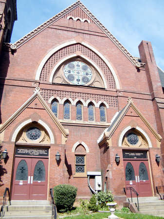 catholicism: The Luther Place Memorial Church in Washington DC, USA