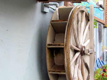 ontario: Water wheel in St. Jacobs Village Ontario, Canada