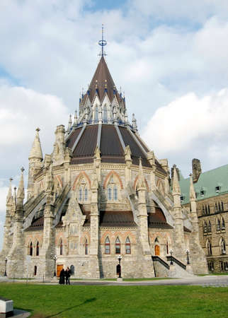ottawa: The Library of Canadian Parliament in Ottawa, Canada